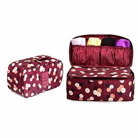 Bra Fashionable dan Panty Travel Case / Portable Lingerie Travel Organizer Bag
